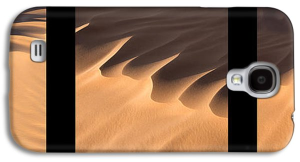 Abstract Landscape Galaxy S4 Cases - Sahara triptych Galaxy S4 Case by Delphimages Photo Creations