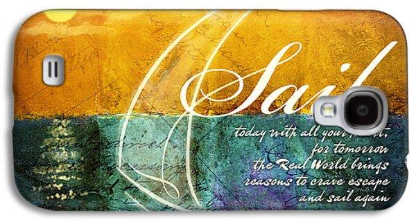 Sail Galaxy S4 Cases - Sail Galaxy S4 Case by Evie Cook