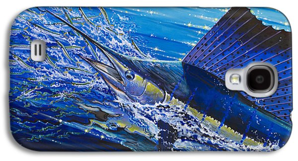 Sail On The Reef Off0082 Galaxy S4 Case by Carey Chen