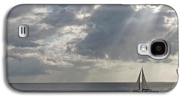 Sailboat Images Galaxy S4 Cases - Sailboat In The Sea, Negril, Jamaica Galaxy S4 Case by Panoramic Images