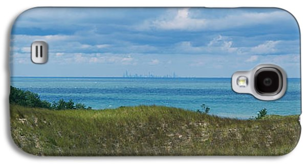 Indiana Scenes Galaxy S4 Cases - Sailboat In Water, Indiana Dunes State Galaxy S4 Case by Panoramic Images