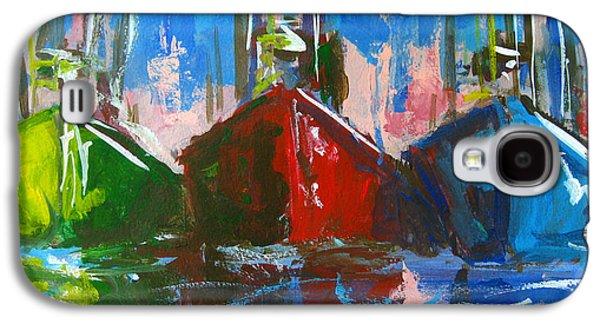 Sailboat Galaxy S4 Case by Patricia Awapara