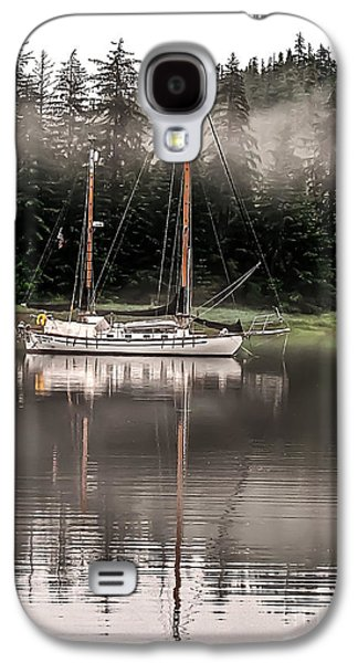 Aft Galaxy S4 Cases - Sailboat Reflection Galaxy S4 Case by Robert Bales
