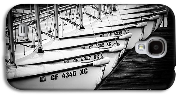 Docked Sailboat Galaxy S4 Cases - Sailboats in Newport Beach California Picture Galaxy S4 Case by Paul Velgos