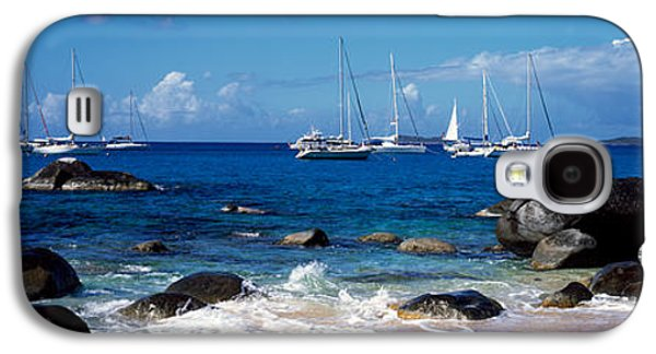 Sailboats In The Sea, The Baths, Virgin Galaxy S4 Case by Panoramic Images