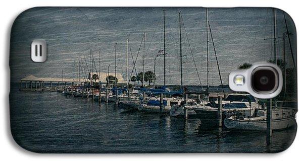 Docked Sailboats Galaxy S4 Cases - Sailboats Galaxy S4 Case by Sandy Keeton