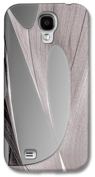 Uplifting  Galaxy S4 Cases - Sailcloth Abstract Number 2 Galaxy S4 Case by Bob Orsillo