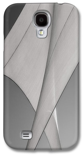 Uplifting  Galaxy S4 Cases - Sailcloth Abstract Number 3 Galaxy S4 Case by Bob Orsillo