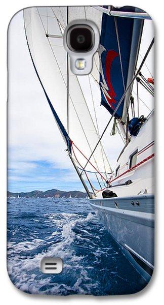 Sailing Bvi Galaxy S4 Case by Adam Romanowicz
