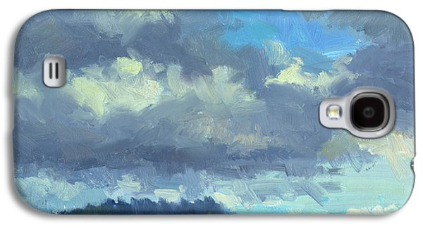 Change Paintings Galaxy S4 Cases - Sailing Galaxy S4 Case by Diane McClary