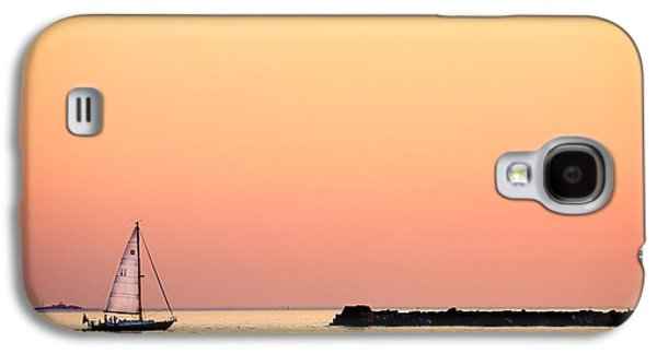 Sailboats In Water Galaxy S4 Cases - Sailing In Color Galaxy S4 Case by Gary Heller