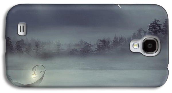Alone Digital Art Galaxy S4 Cases - Sailing Odyssey Galaxy S4 Case by Lourry Legarde