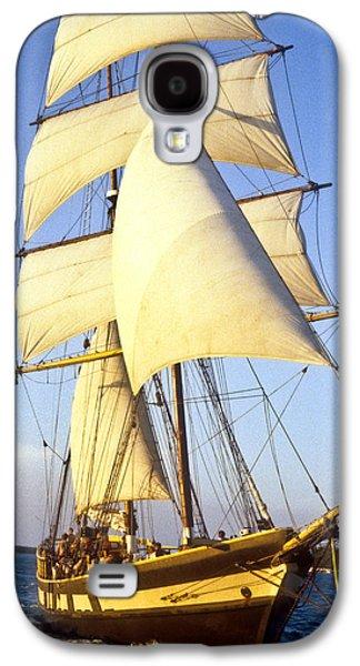 Animation Photographs Galaxy S4 Cases - Sailing ship carribean Galaxy S4 Case by Douglas Barnett