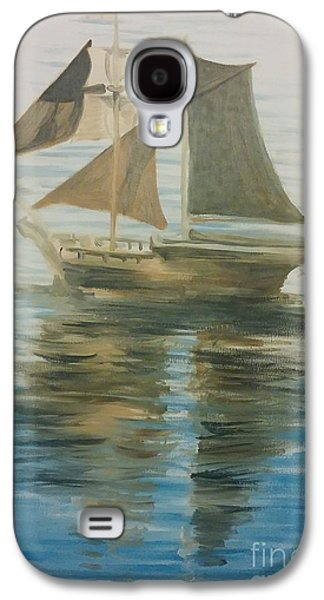 Historic Schooner Galaxy S4 Cases - Sailing Ship Galaxy S4 Case by I F Abbie Shores