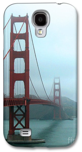 Best Sailing Photos Galaxy S4 Cases - Sailing Under the Golden Gate Bridge Galaxy S4 Case by Connie Fox
