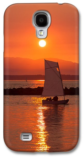 Best Sailing Photos Galaxy S4 Cases - Sailors Solitude 1 Galaxy S4 Case by Scott Campbell