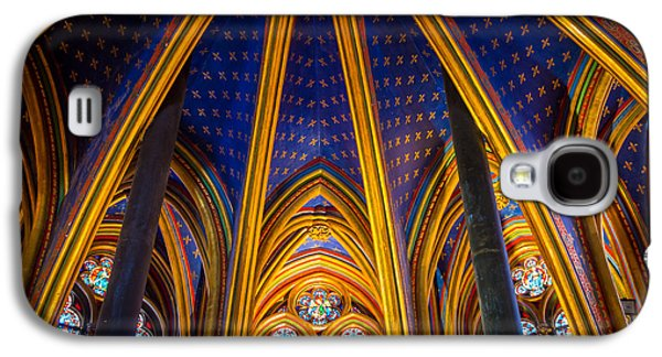 Europa Galaxy S4 Cases - Saint Chapelle Ceiling Galaxy S4 Case by Inge Johnsson