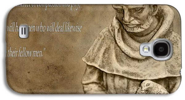 Stigma Galaxy S4 Cases - Saint Francis Of Assisi Galaxy S4 Case by Dan Sproul