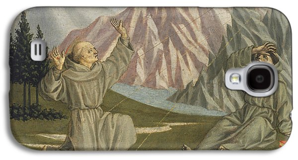 Stigma Galaxy S4 Cases - Saint Francis Receiving The Stigmata, C. 1445-50 Tempera On Panel Galaxy S4 Case by Domenico Veneziano