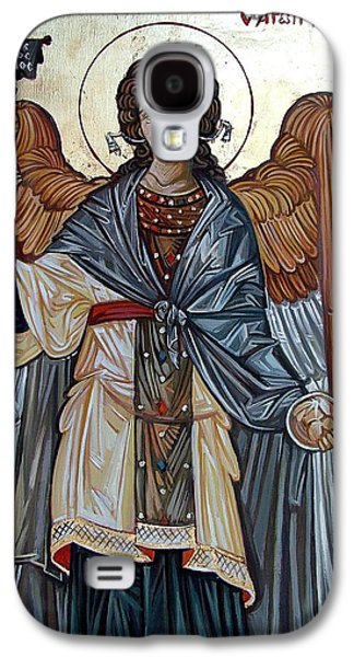 Orthodox Icon Galaxy S4 Cases - Saint Gabriel Galaxy S4 Case by Filip Mihail