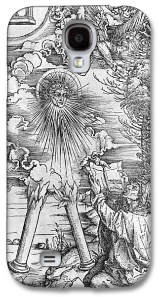 Saints Drawings Galaxy S4 Cases - Saint John Galaxy S4 Case by Albrecht Durer or Duerer
