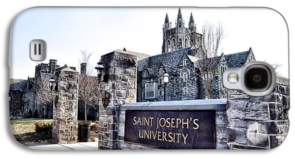 Saint Joseph Galaxy S4 Cases - Saint Josephs University Galaxy S4 Case by Bill Cannon
