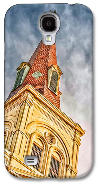 Brenda Bryant Photography Galaxy S4 Cases - Saint Louis Cathedral Galaxy S4 Case by Brenda Bryant