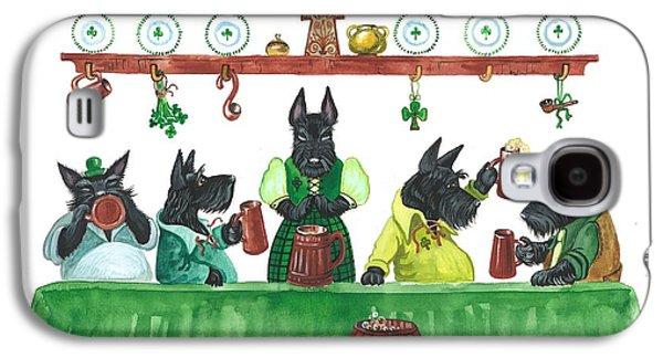 Saint Patricks Day Macduff Galaxy S4 Case by Margaryta Yermolayeva