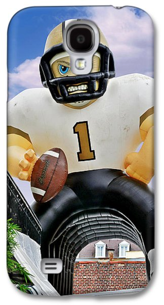 Champions Galaxy S4 Cases - Saints New Orleans Galaxy S4 Case by Christine Till