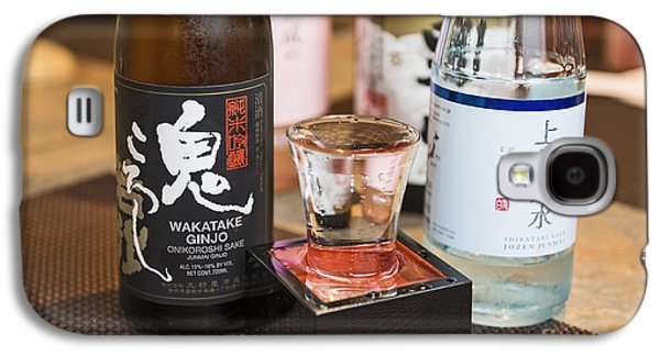 Pairings Galaxy S4 Cases - Sake - A variety of sake to taste. Galaxy S4 Case by Jamie Pham