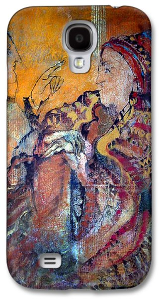 Bible Pastels Galaxy S4 Cases - SALADIN  Who Has The Truth Among The Peoples of The Book  ? f  Galaxy S4 Case by Josie Taglienti