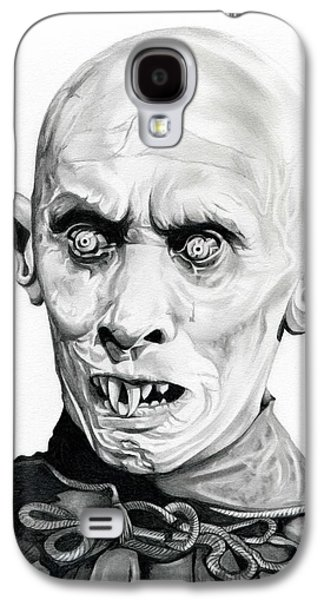 Haunted House Drawings Galaxy S4 Cases - Salems Lot Galaxy S4 Case by Fred Larucci