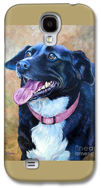 Mixed Labrador Retriever Galaxy S4 Cases - Sallie Galaxy S4 Case by Catherine Garneau