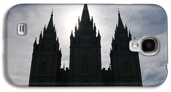 Buy Galaxy S4 Cases - Salt Lake Temple Galaxy S4 Case by Todd and Ashleigh Madsen