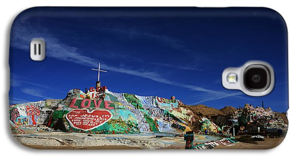 Installation Art Galaxy S4 Cases - Salvation Mountain Galaxy S4 Case by Laurie Search