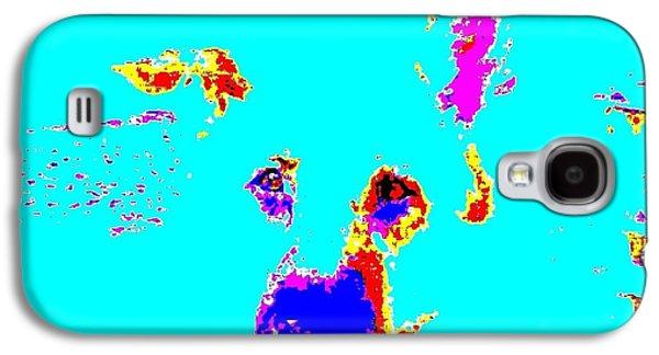 Puppies Digital Art Galaxy S4 Cases - Sam 5144 5a Galaxy S4 Case by Nina Kaye