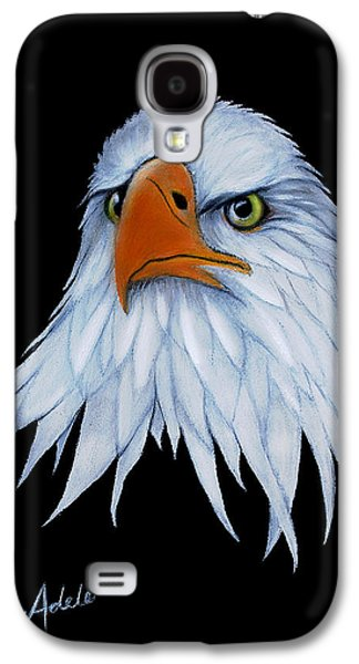 Eagle Paintings Galaxy S4 Cases - Sam Galaxy S4 Case by Adele Moscaritolo