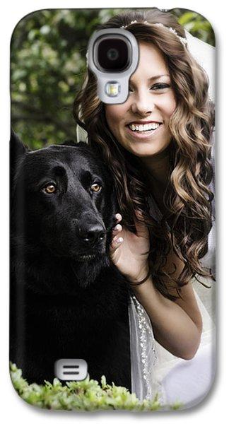 German Shepherd Galaxy S4 Cases - Samantha and Friend Galaxy S4 Case by Rick Berk