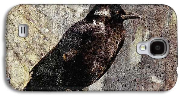 Same Crow Different Day Galaxy S4 Case by Carol Leigh
