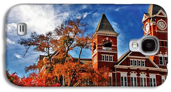 Sec Galaxy S4 Cases - Samford Hall in the Fall Galaxy S4 Case by Victoria Lawrence
