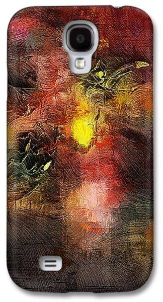 Abstract Digital Art Galaxy S4 Cases - Samhain Galaxy S4 Case by David Lane