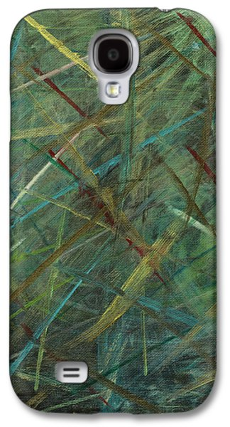 Samhain Paintings Galaxy S4 Cases - Samhain Galaxy S4 Case by Graham McClean