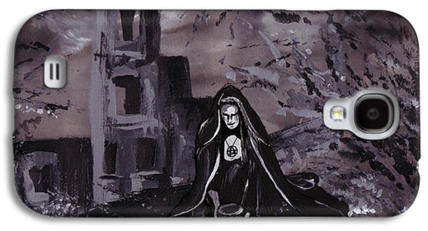 Samhain Paintings Galaxy S4 Cases - Samhain Galaxy S4 Case by Stacey Austin
