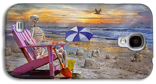 Physiology Galaxy S4 Cases - Sams  Sandcastles Galaxy S4 Case by Betsy A  Cutler