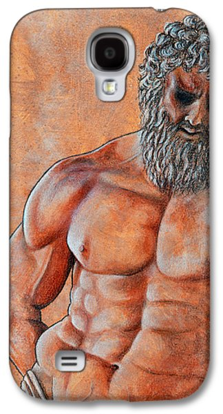 Bible Pastels Galaxy S4 Cases - Samson Galaxy S4 Case by David Clode