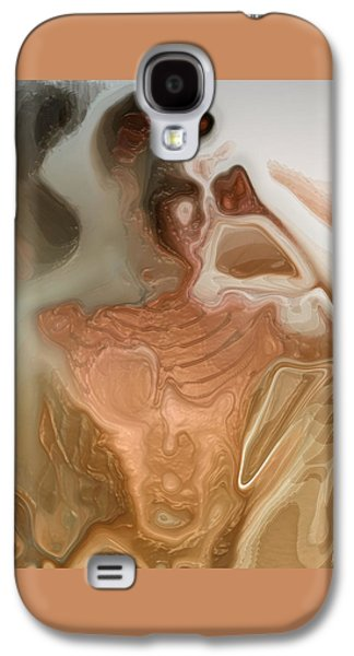 Abstract Digital Art Galaxy S4 Cases - Anorexy By Quim Abella Galaxy S4 Case by Joaquin Abella