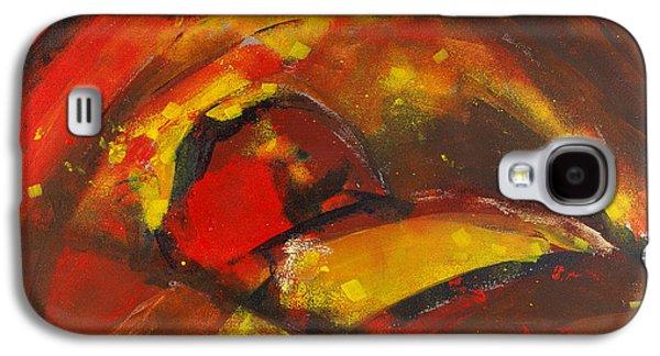 Slash Paintings Galaxy S4 Cases - Samurai  Galaxy S4 Case by Mark Daniels