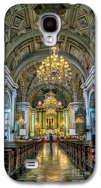 San Agustin Church  Galaxy S4 Case by Adrian Evans