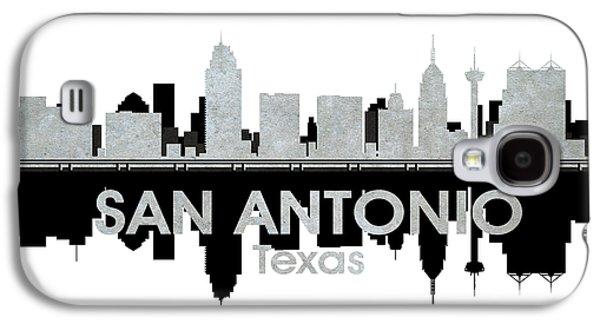 Industrial Mixed Media Galaxy S4 Cases - San Antonio TX 4 Galaxy S4 Case by Angelina Vick