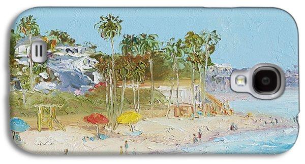 California Beach Art Galaxy S4 Cases - San Clemente Beach Galaxy S4 Case by Jan Matson